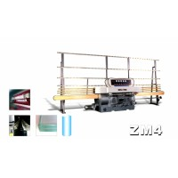 ZM4 4 Spindles Glass straight-line edging machine